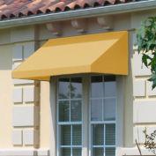 "Awntech CN32-4LY, Window/Entry Awning 4' 4-1/2"" W x 2'D x 3' 8""H Light Yellow"