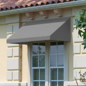 "Awntech CN34-8G, Window/Entry Awning 8' 4 -1/2""W x 4'D x 3' 8""H Gray"