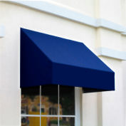 "Awntech CN34-8N, Window/Entry Awning 8' 4 -1/2""W x 4'D x 3' 8""H Navy"