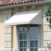 "Awntech CN34-8W, Window/Entry Awning 8' 4 -1/2""W x 4'D x 3' 8""H Off White"