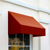 "Awntech CN43-8TER, Window/Entry Awning 8' 4-1/2""W x 3'D x 4' 8""H Terra Cotta"