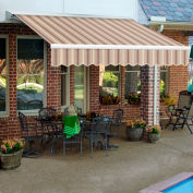 "Awntech DM8-606-GCK, Retractable Awning Manual 8'W x 7'D x 10""H Gray/Cream"