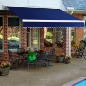 "Awntech DM8-77-N, Retractable Awning Manual 8'W x 7'D x 10""H Navy"
