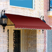 Awntech ER23-3B, Window/Entry Awning 3-3/8'W x 2'H x 3'D Burgundy