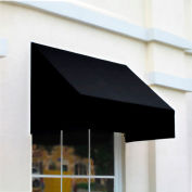 Awntech RN22-3K, Window/Entry Awning 3-3/8'W x 2-9/16'H x 2'D Black