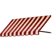 "Awntech RR22-4BT, Window/Entry Awning 4' 4-1/2"" W x 2'D x 2' 7""H Burgundy/Tan"