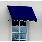 "Awntech RR22-5N, Window/Entry Awning 5' 4-1/2"" W x 2'D x 2' 7""H Navy"