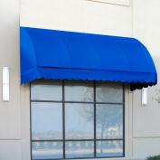 "Awntech RS22-4BB, Window/Entry Awning 4' 4-1/2"" W x 2'D x 2' 7""H Bright Blue"