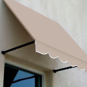 Awntech SANT21-4L Window/Entry Awning 4-3/8'W x 2-9/16'H x 1'D Linen