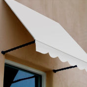 Awntech SANT22-10W Window/Entry Awning 10-3/8'W x 2-9/16'H x 2'D Off White