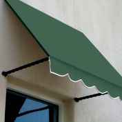 Awntech SANT43-10S Window/Entry Awning 10-3/8'W x 4-11/16'H x 3'D Sage