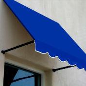 Awntech SANT43-3BB Window/Entry Awning 3-3/8'W x 4-11/16'H x 3'D Bright Blue