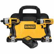 DeWALT® DCK210S2 12V MAX Cordless Li-Ion Screwdriver / Impact Driver Combo Kit