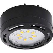Amax Lighting LEDPL1-BLK LED Puck Light, 4W, 3000 CCT, 360 Lumens, 82 CRI, Black