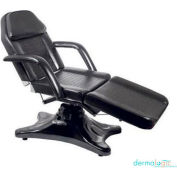 AYC Group Sachse Salon Facial Chair - Vinyl - Black