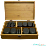 AYC Group Salon Polish Massage Stone Set - Black - 36 Pack