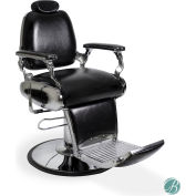 AYC Group Delano Barber Chair - Vinyl - Black