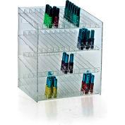 "Azar Displays 222884, 48 Compartment Cosmetic Display, 12""W x 14.5""H x 8.5""D, CLR, 1 Pc"