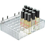 "Azar Displays 225529, 36 Compartment Cosmetic Tray , 7.125""W x 1.5""H x 5""D, CLR, 1 Pc"