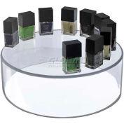 "Azar Displays 556905 Acrylic Cylinder, 10"" x 6"", Clear ,1 Piece"
