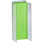 """Azar Displays 700359-GRE, Pegboard Powerwing Display, 8""""W x 20.625""""H, GN, 1 Pc"""