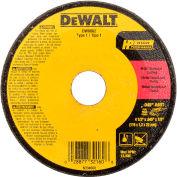 "DeWalt DW8062 Metal & Stainless Cutting Wheel 4-1/2"" DIA..045"" Thick  Aluminum Oxide - Pkg Qty 25"