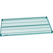 """Nexel® S2448G Poly-Green® Wire Shelf 48""""W x 24""""D"""