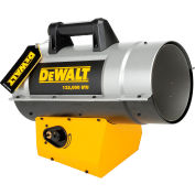 DeWALT® Portable Forced Air Propane Heater DXH125FAV 85K to 125K BTU