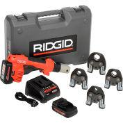 """Ridgid® Battery Press Tool Kit W/ProPress Jaws, 1/2""""-1-1/4"""""""
