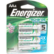 Energizer® AA e² NiMH Rechargeable Batteries 4 per Pack