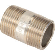 3/4 In. X 1-1/2 In. 304 Stainless Steel Pipe Nipple - 16168 PSI - Sch. 40 - Domestic