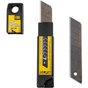 OLFA® HBB-20B 25MM XHD Black UltraSharp Snap-Off Blades (20 Pack)