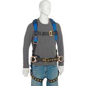 FallTech® 7073LX Foreman 3-D Full Body Harness, 3 D-rings, Size L/XL