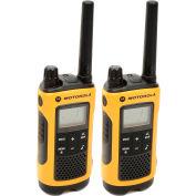 Motorola Talkabout® T402 Two-Way Radios, Yellow/Black - 2 Pack