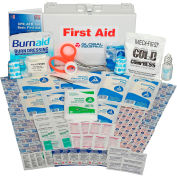 Global Industrial First Aid Kit - 25 Person, ANSI Compliant, Metal Case