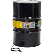 Drum Heater With Thermostat Control For 55 Gallon Steel Drum, 60-250°F, 120V