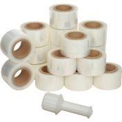 """Banding Stretch Wrap, Cast, 120 Gauge, 3""""Wx700'L, Clear - Pkg Qty 18"""