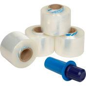"""Goodwrappers™ Banding Stretch Wrap, Cast, 90 Gauge, 3""""Wx1000'L, Clear - Pkg Qty 4"""