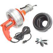 General Wire PV-A-WC Power-Vee Drain Cleaning Machine includes 2 Cables, Cutter Set & Case