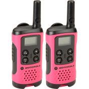 Motorola Talkabout® T107 Two-Way Radios, Neon Pink - 2 Pack