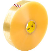 "3M™ Scotch® 375 Machine Length Carton Sealing Tape 3"" x 1000 Yds. 3.1 Mil Clear - Skid Lot - Pkg Qty 108"