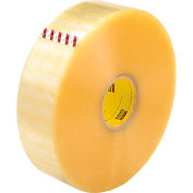 "3M™ Scotch® 373 Machine Length Carton Sealing Tape 3"" x 1000 Yds. 2.5 Mil Clear - Pkg Qty 4"