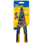 "IRWIN VISE-GRIP® 2078309 8"" Multi-Tool Wire Stripper/Cutter/Crimper W/ProTouch Grips"