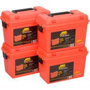 "Plano Molding 161250 Emergency Supply Box 15""L x 8""W x 10""H, Orange - Pkg Qty 4"