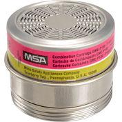 MSA Comfo® Combo Cartridges, Multi -Gas, GME-P100, 6/Pk, 815182