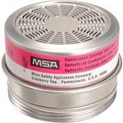 MSA Comfo® Respirator Cartridges, Acid Gas/P100, 6/Box, 815179