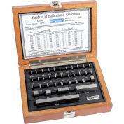 Fowler 53-672-036-0 Shop-Blox Rectangular Gage Block Set - 36 Piece