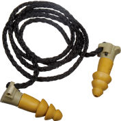 Moldex 6497 BattlePlugs® Impulse Protection Reusable Earplugs, Corded, Small, NRR 12dB/24dB