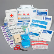 First Aid Only 90755 10 Person First Aid Kit, ANSI A, Metal Case