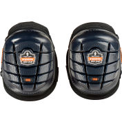 Ergodyne® ProFlex® 355 Injected Gel Knee Pads, Short Cap, Black, 18455